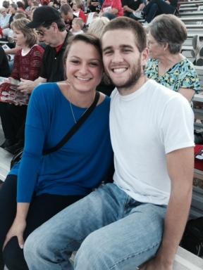 julian and I at homecoming
